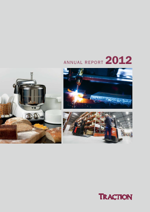 Traction annual report 2012