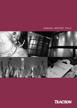 Traction annual report 2013