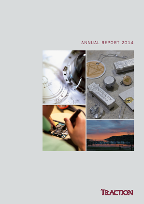 Traction annual report 2014