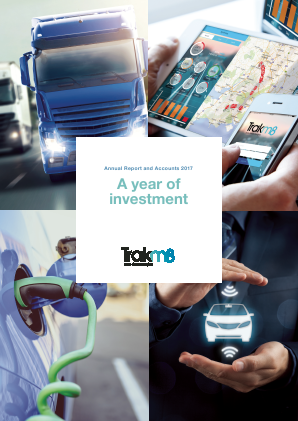 Trakm8 Holdings annual report 2017