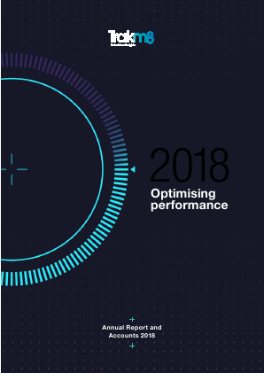 Trakm8 Holdings annual report 2018