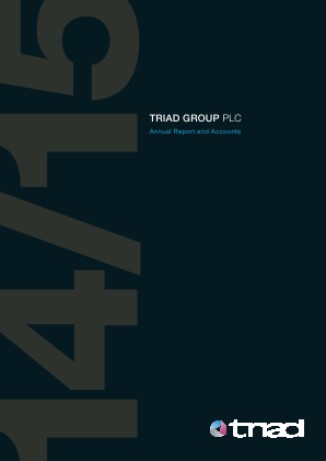 Triad Group annual report 2015