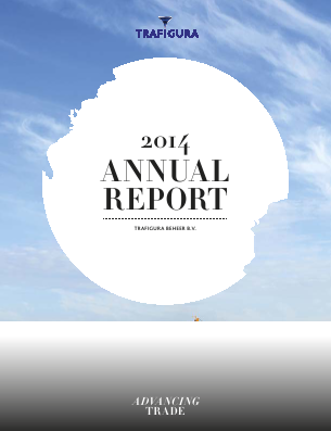 Trafigura Group annual report 2014
