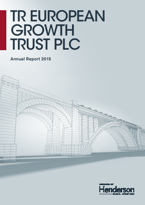 TR European Growth Trust annual report 2015