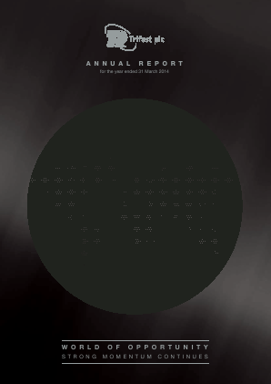 Trifast annual report 2014