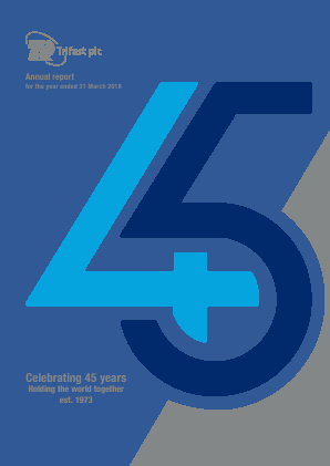 Trifast annual report 2018