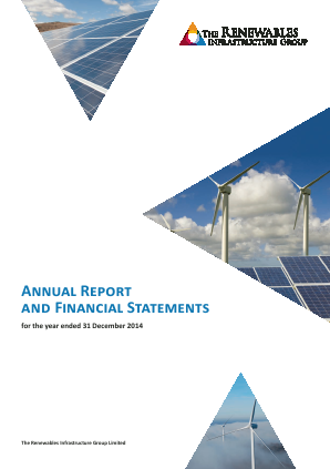 Renewables Infrastructure Group annual report 2014