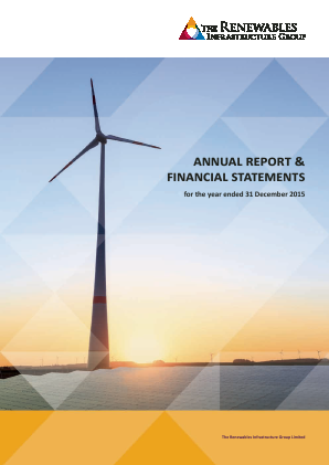 Renewables Infrastructure Group annual report 2015