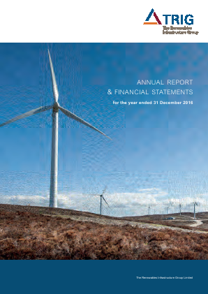 Renewables Infrastructure Group annual report 2016