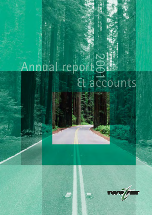 Torotrak annual report 2001