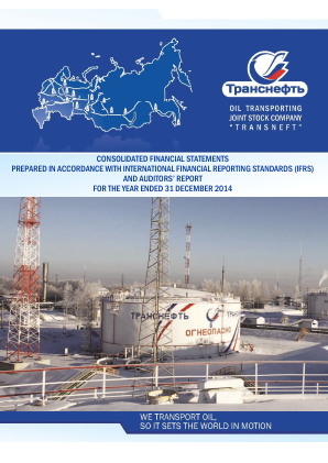Transneft annual report 2014