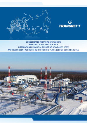 Transneft annual report 2016