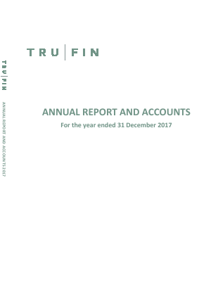 Trufin annual report 2017