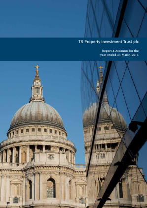 TR Property Investment Trust annual report 2013