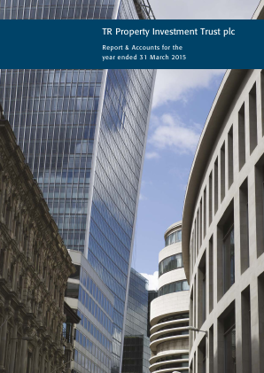 TR Property Investment Trust annual report 2015