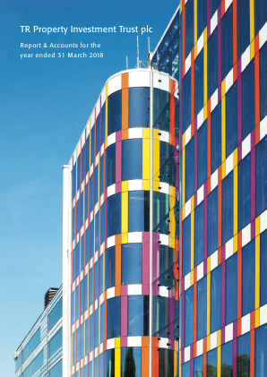 TR Property Investment Trust annual report 2018