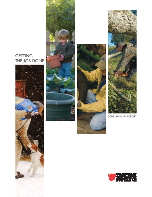 Tractor Supply Company annual report 2008