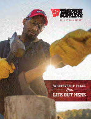 Tractor Supply Company annual report 2015