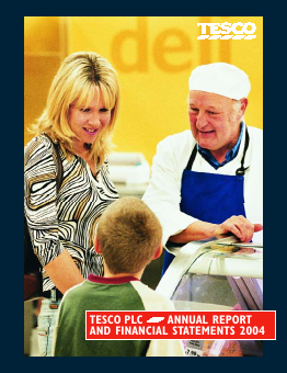 Tesco annual report 2004