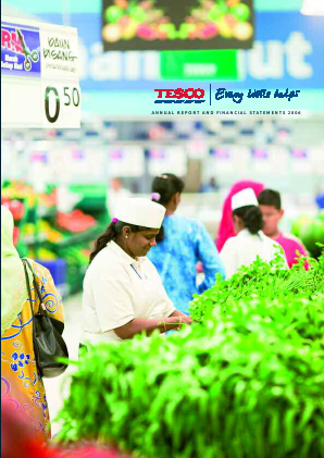 Tesco annual report 2006
