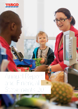 Tesco annual report 2011