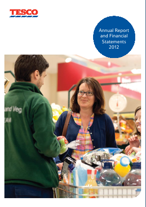Tesco annual report 2012