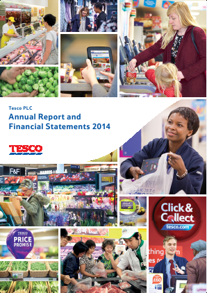 Tesco annual report 2014