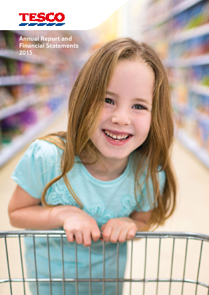 Tesco annual report 2015