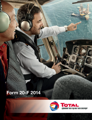 Total annual report 2014
