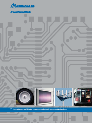 TT Electronics annual report 2006