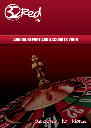 32Red annual report 2009