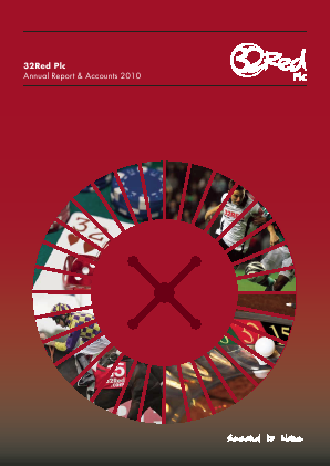 32Red annual report 2010