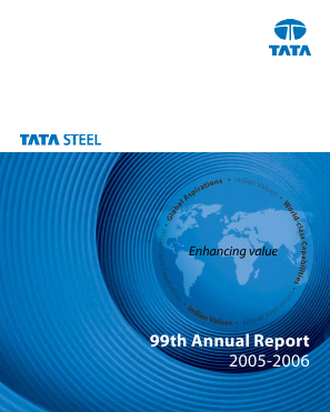 Tata Steel annual report 2006