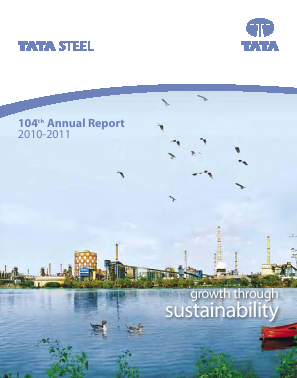 Tata Steel annual report 2011