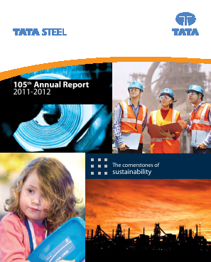 Tata Steel annual report 2012