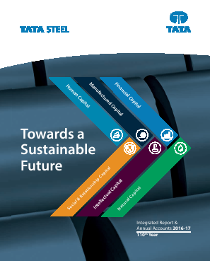 Tata Steel annual report 2017