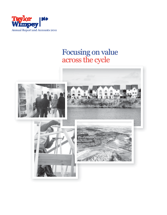 Taylor Wimpey Plc annual report 2011
