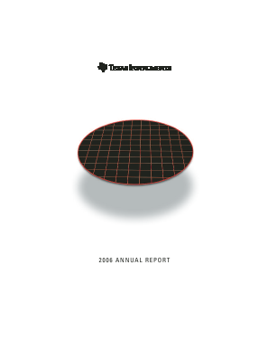 Texas Instruments Inc. annual report 2006