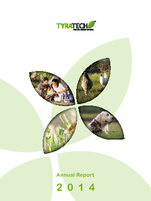 Tyratech Inc annual report 2014