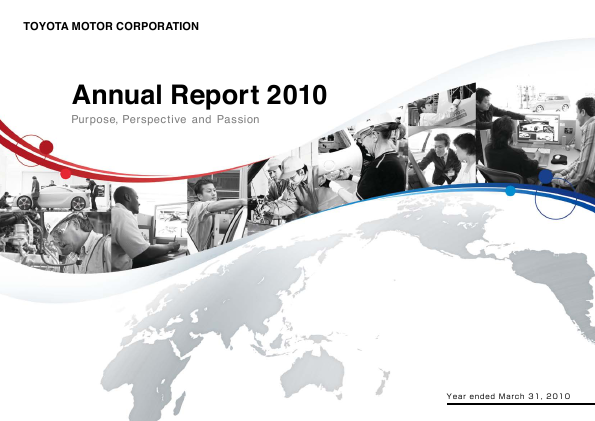 Toyota Motor annual report 2010