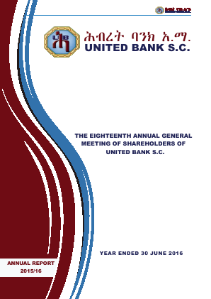 United Bank annual report 2016