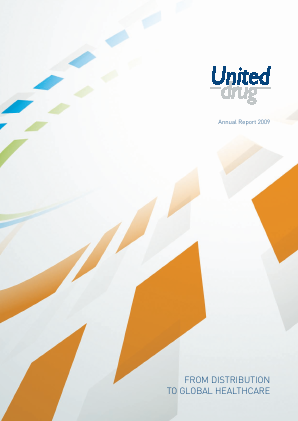 UDG Healthcare Plc annual report 2009