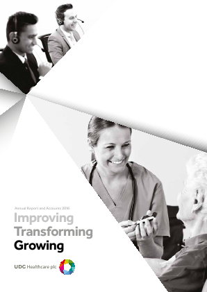 UDG Healthcare Plc annual report 2016