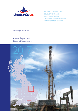 Union Jack Oil Plc annual report 2017