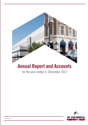 UK Commercial Property Trust annual report 2013