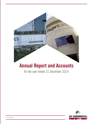 UK Commercial Property Trust annual report 2014