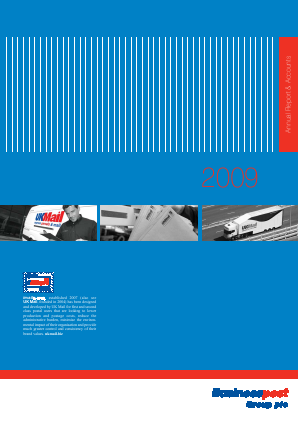 UK Mail Group Plc annual report 2009