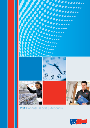 UK Mail Group Plc annual report 2011