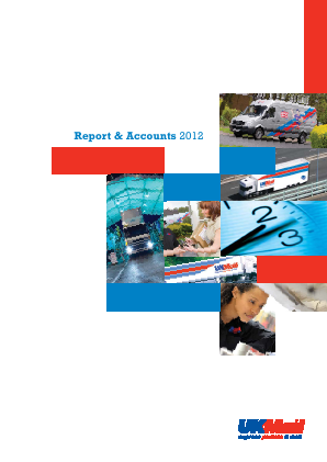 UK Mail Group Plc annual report 2012