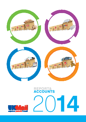 UK Mail Group Plc annual report 2014